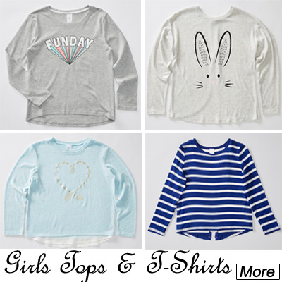 Girls Tops & T-Shirts